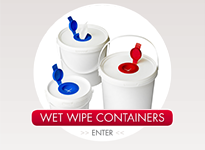 Wet Wipe Containers